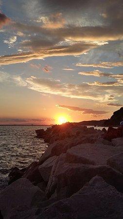 Duino Aurisina, Italia: tramonto