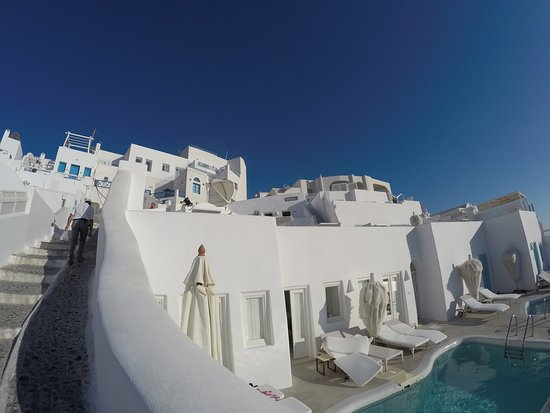 the White, Santorini