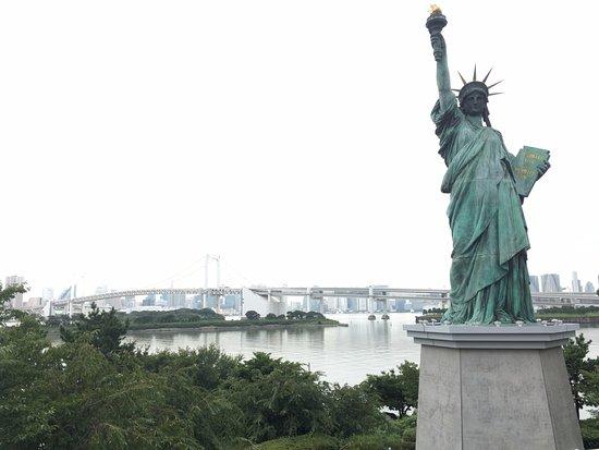Odaiba: 도쿄 자유의여신상 & 레인보우 브릿지