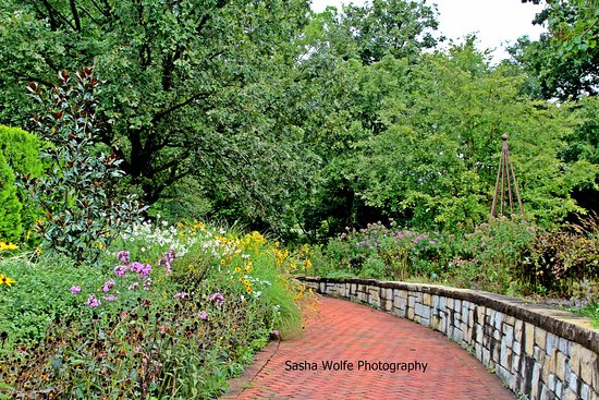 Kingsville, MO: One of the trails through Powell Gardens. So much to see.