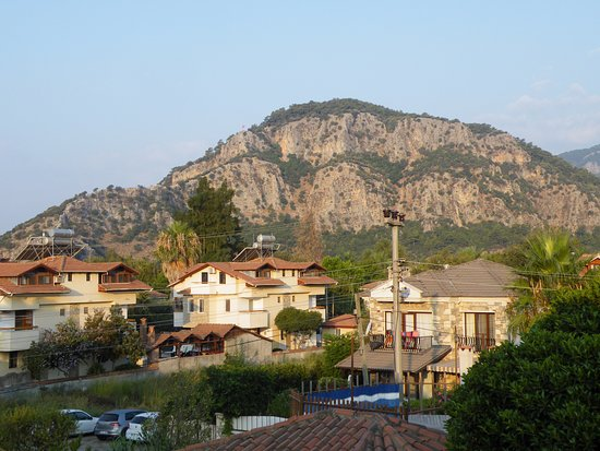 Sahin, Apartments: Uitzicht kamer