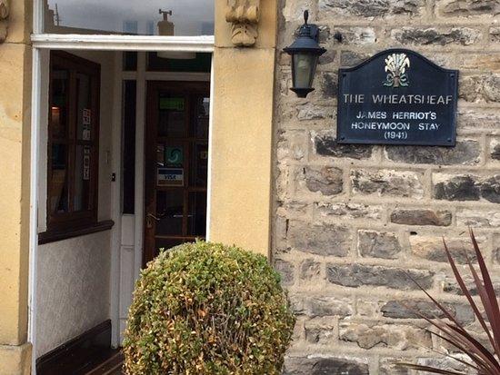 Carperby, UK: James Herriot was hier op huwelijksreis