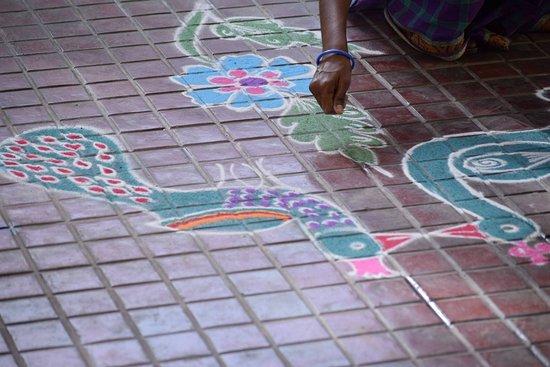 Visalam: Rangoli