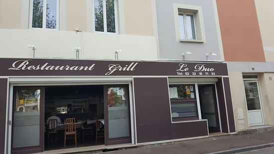 Le Petit Quevilly, Francia: Le Duo Restaurant Grill