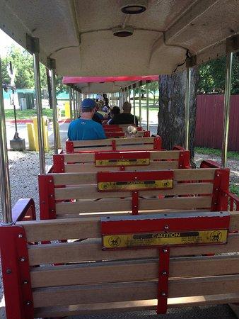 San Antonio Zoo Eagle Train: Train