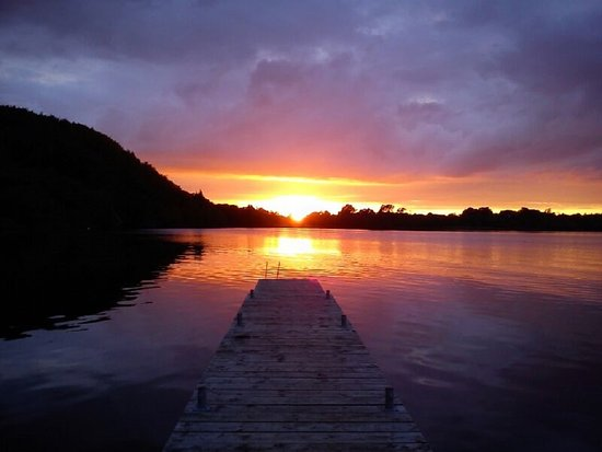 Графство Фермана, UK: Fermanagh Sunset