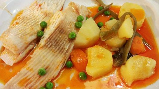 Restaurante novo arroio en tomi o con cocina otras cocinas for Cocinar raya a la gallega