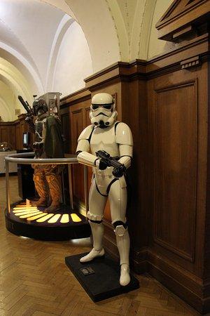 """The London Film Museum - South Bank: штурмовик из фильма """"Звездные войны"""""""
