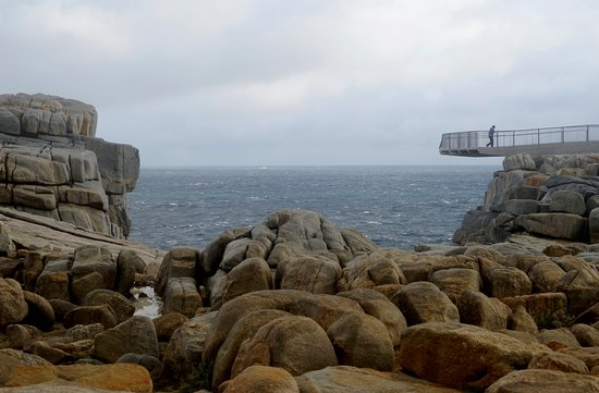 Albany, Australië: Viewing platform over the Gap
