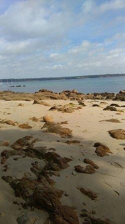 Fouesnant, فرنسا: La Plage du Cap Coz
