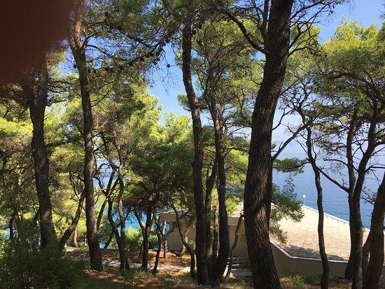 Adriatiq Resort Fontana: vue depuis la chambre
