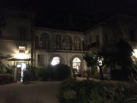 Villa Taticchi: The Villa from the Garden