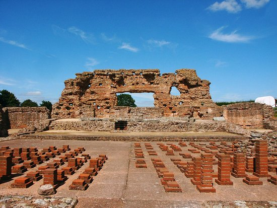 Broseley, UK: wroxeter roman city