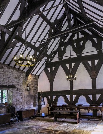 Lancashire, UK: Great Hall roof beams