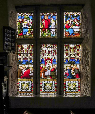 Lancashire, UK: Chaple window