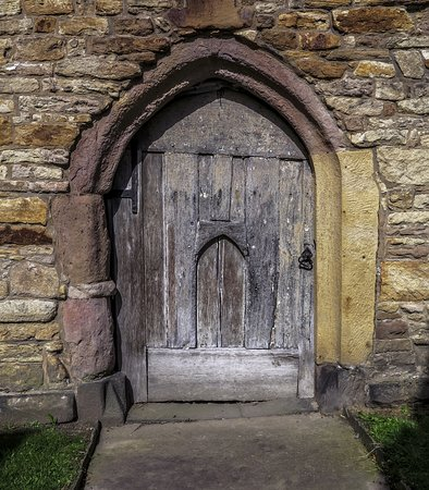Lancashire, UK: Door from the 1330