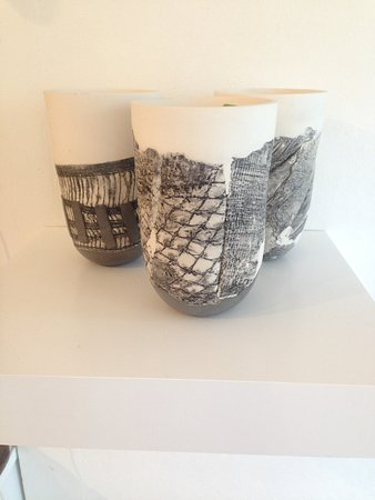 Art Couture Painswick Gallery: Each piece represents another.