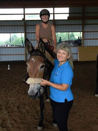 Muncy, PA: I stayed at the Cooper Roof B&B while attending a clinic with my mule at nearby Woodridge Farm.
