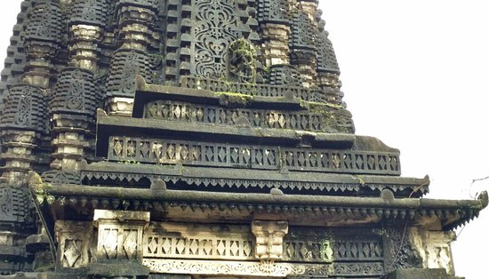 Ahmadnagar, Hindistan: Beautiful carvings