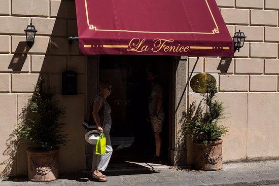 La Fenice Park Hotel : l'ingresso