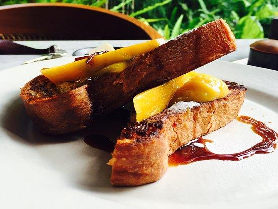 Kemiri: French Mango Toast