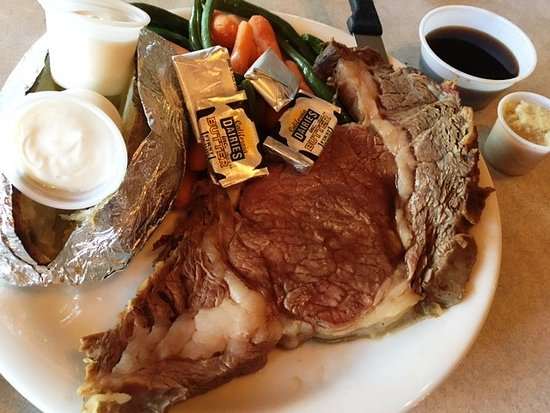 Crowley Lake, CA: Prime Rib Dinner @ $14.95