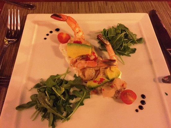 Spiga Restaurant: Shrimp & Avocado