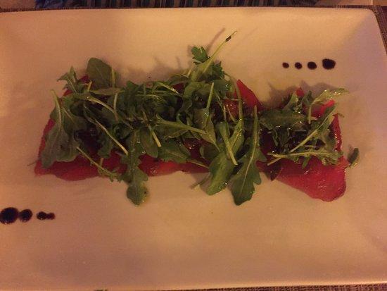 Spiga Restaurant: Carpaccio w/ Arugula