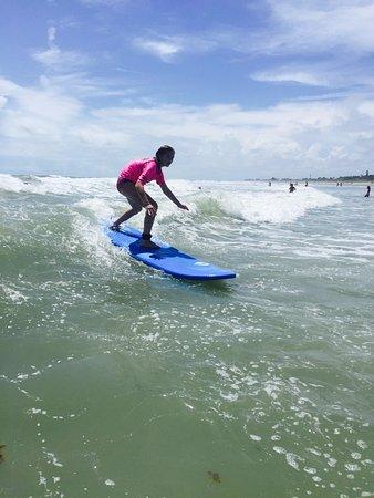 Nex Generation Surfing School: First Surf Lesson!