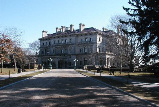 Wakefield, RI: The Breakers (one of the Newport Mansions)