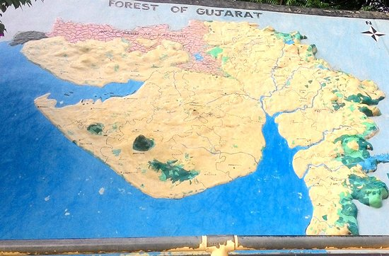 Gujarat MAP - Dinosaur Park - Picture of Indroda Nature Park ... on
