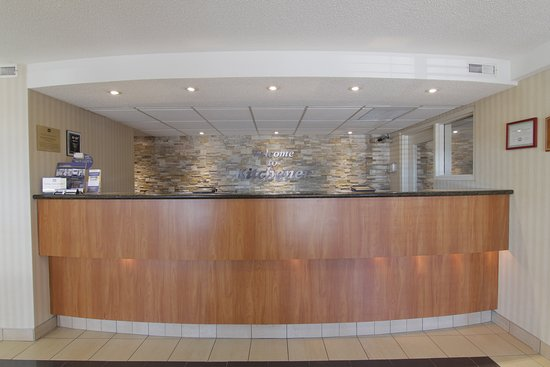 BEST WESTERN PLUS Kitchener-Waterloo: Reception