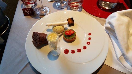 Le Cristal - Futuroscope : Dessert