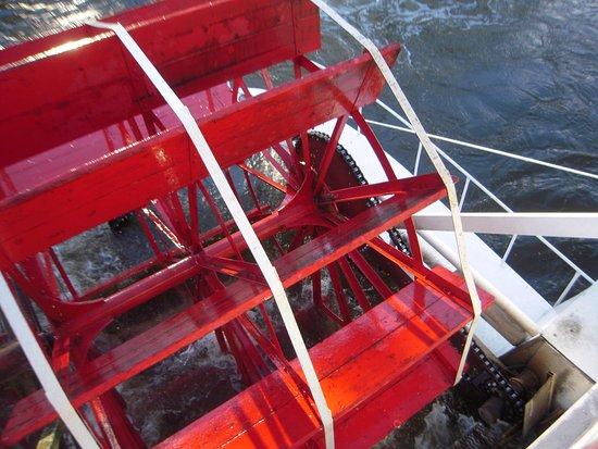 Jenison, Мичиган: One of the paddlewheels