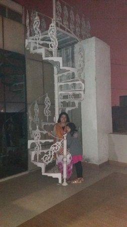 Hotel Saptagiri: Hotel Rooptop