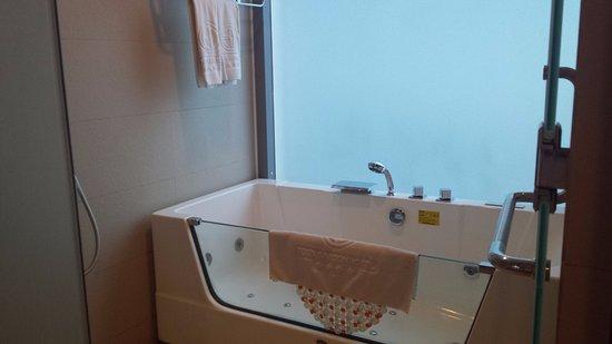 EdenStar Saigon Hotel: Baño de la suite