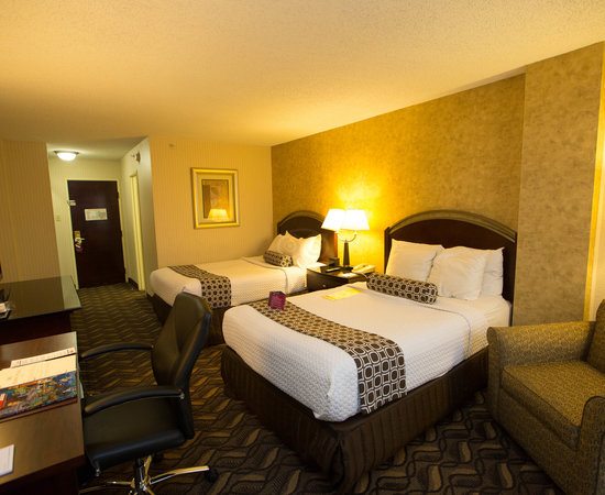 The Two Double Beds at the Crowne Plaza Austin