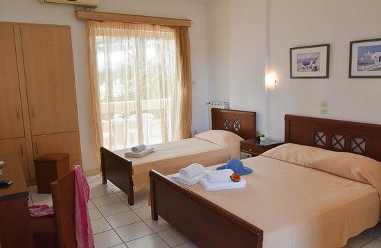 Hotel Hermes: standart tripple room