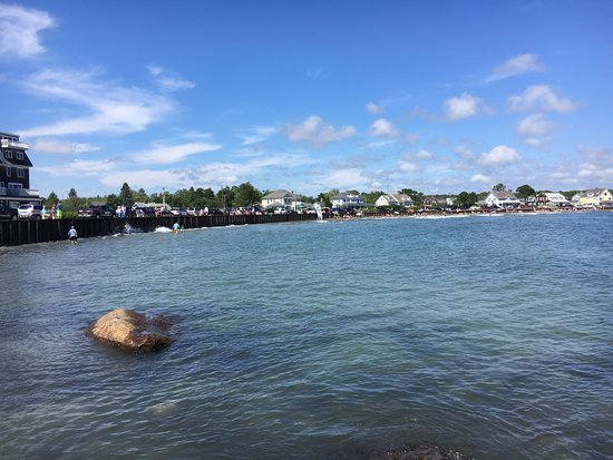 Kennebunkport, ME: high tide