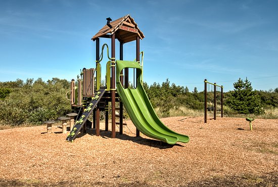 Ocean Shores, WA: Kids nature-themed play area