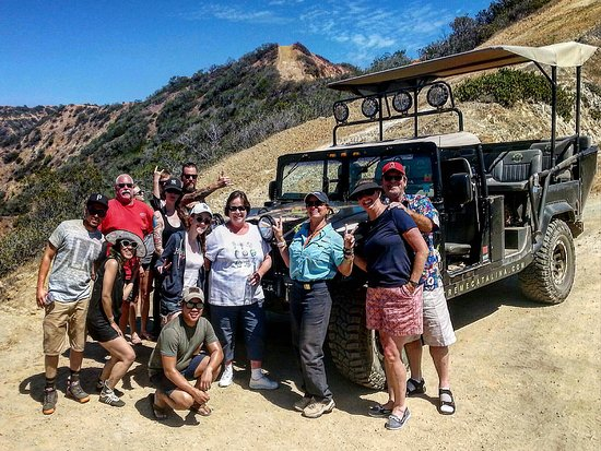 Trans-Catalina Trail: Tourist On Trail