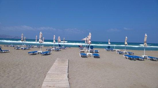 Hotel Akti Corali: spiaggia dell'hotel