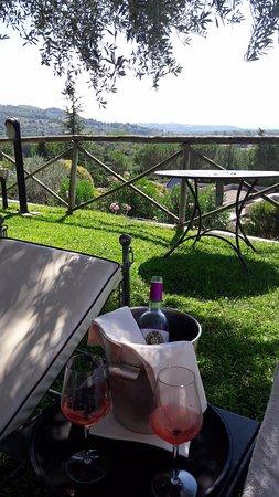 Le Tre Vaselle Resort & Spa: Ça marche aussi avec de l'eau minérale...