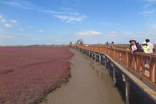Dawa County, China: Red Beach
