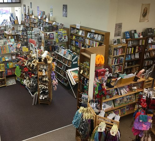 Bellows Falls, VT: Interior of bookstore