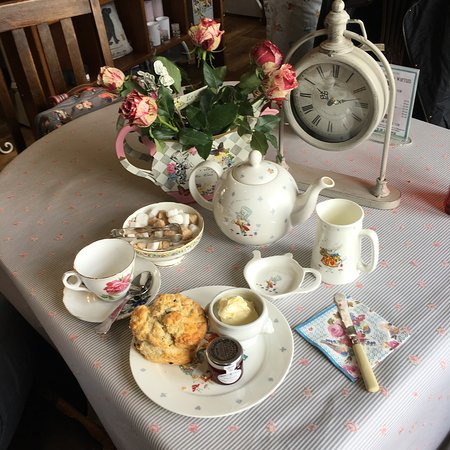 Sedbergh, UK: Cream Tea
