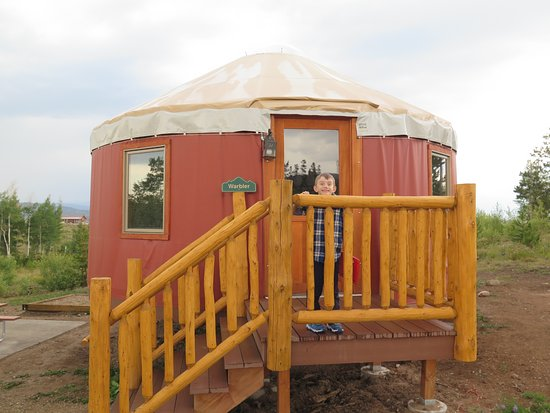 ‪‪Snow Mountain Ranch‬: Spacious yurt‬