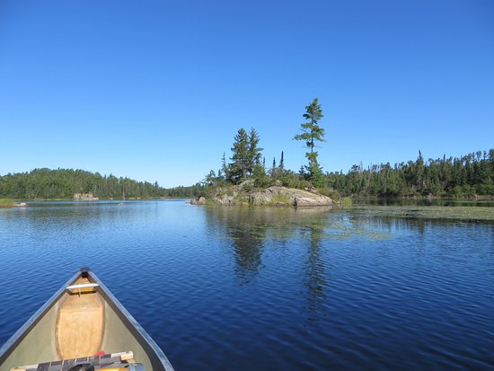 Atikokan, Canadá: The view from the Souris River 16 that CQQ rented to me.