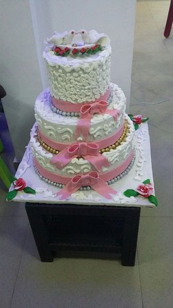 Paris Bakery Ibadan Special Wedding Cake