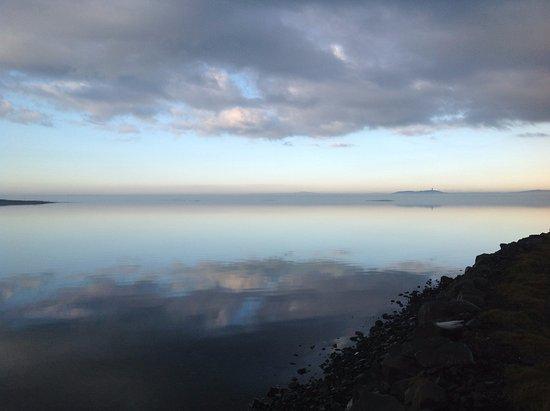 Shoreline at Mount Stewart